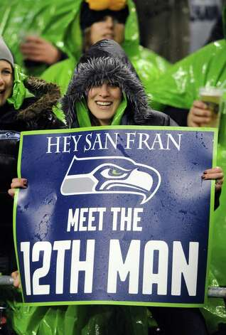 Seahawks fans at the famously loud CLink hope to set a world record for crowd noise later this year when the Hawks host San Francisco. Turkish soccer fans currently hold that honor. Photo: Steve Dykes, Getty Images / 2012 Getty Images