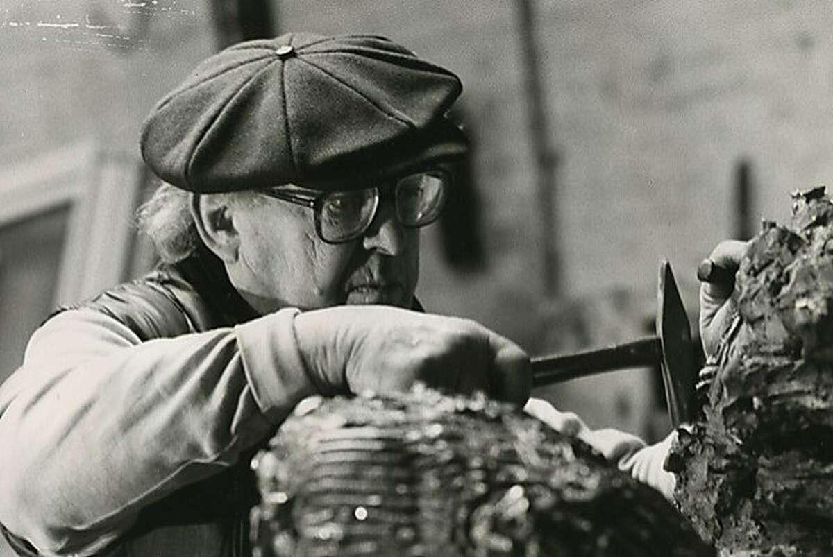 Painter and sculptor Reuben Kadish (1913-1992)