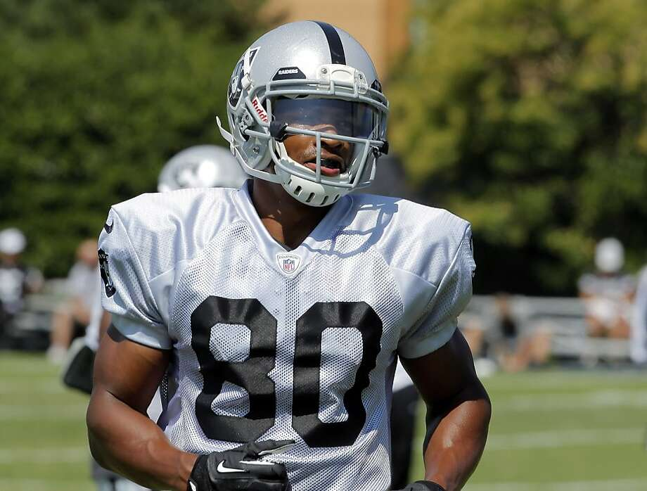 Undrafted Rod Streater, who had 584 yards and three TDs in his rookie year, looks for a breakout season in 2013. Photo: Carlos Avila Gonzalez, The Chronicle