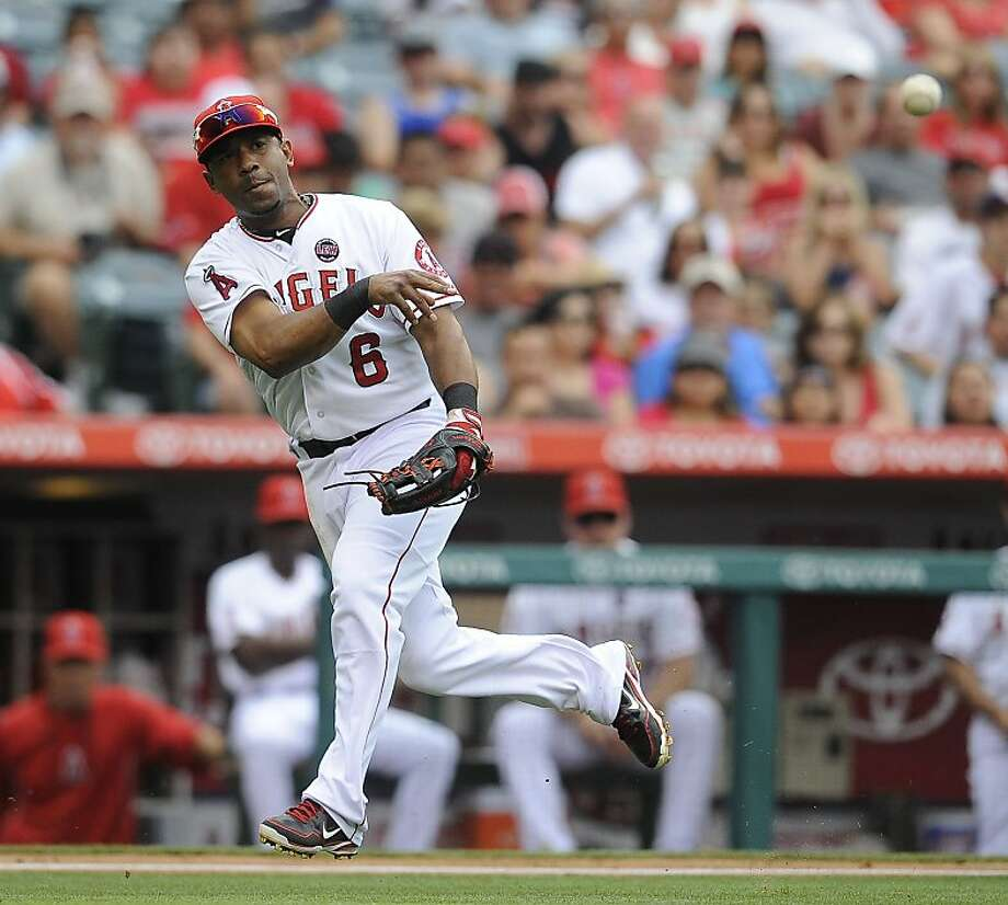 Alberto Callaspo has played very little second base in recent years, but that will change. Photo: Mike Greene, McClatchy-Tribune News Service