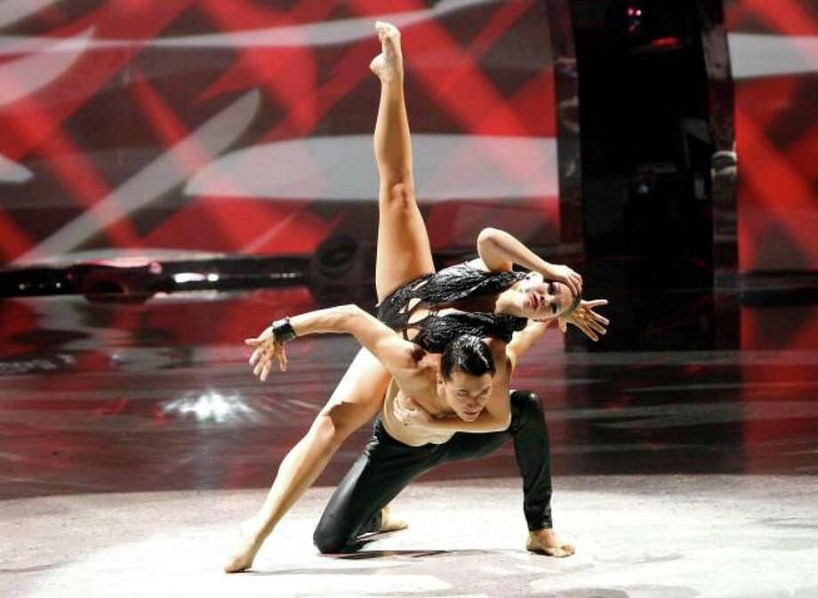 """SO YOU THINK YOU CAN DANCE: L-R: Top 14 contestants Makenzie Dustman and Paul Karmiryan perform a Jazz routine to """"You'll Find A Way"""" choreographed by Sonya Tayeh on SO YOU THINK YOU CAN DANCE airing Tuesday, July 30 (8:00-10:00 PM ET/PT) on FOX. ©2013 FOX Broadcasting Co. Cr: Adam Rose"""