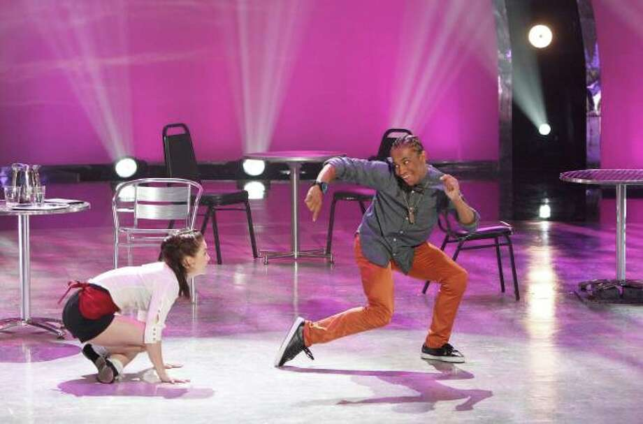 """SO YOU THINK YOU CAN DANCE: L-R: Top 14 contestants Amy Yakima and Fik-Shun perform a Hip-Hop routine to """"Let's Get It On"""" choreographed by Christopher Scott on SO YOU THINK YOU CAN DANCE airing Tuesday, July 30 (8:00-10:00 PM ET/PT) on FOX. ©2013 FOX Broadcasting Co. Cr: Adam Rose"""