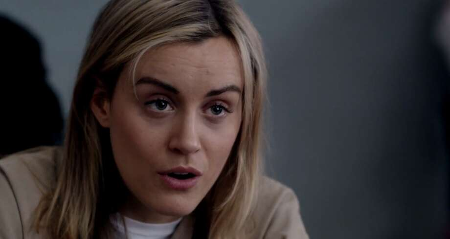 "Best Actress in a TV series, dramaTaylor Schilling in ""Orange Is The New Black"""