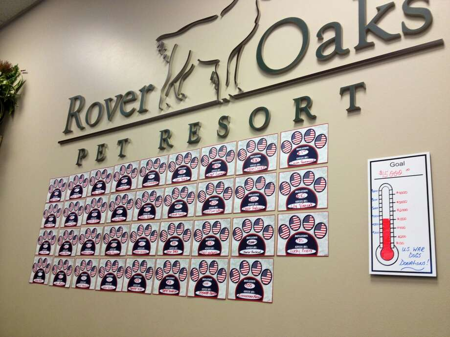 Rover Oaks' fundraising campaign was Memorial Day through Fourth of July. Photo: Courtesy Of Rover Oaks Houston