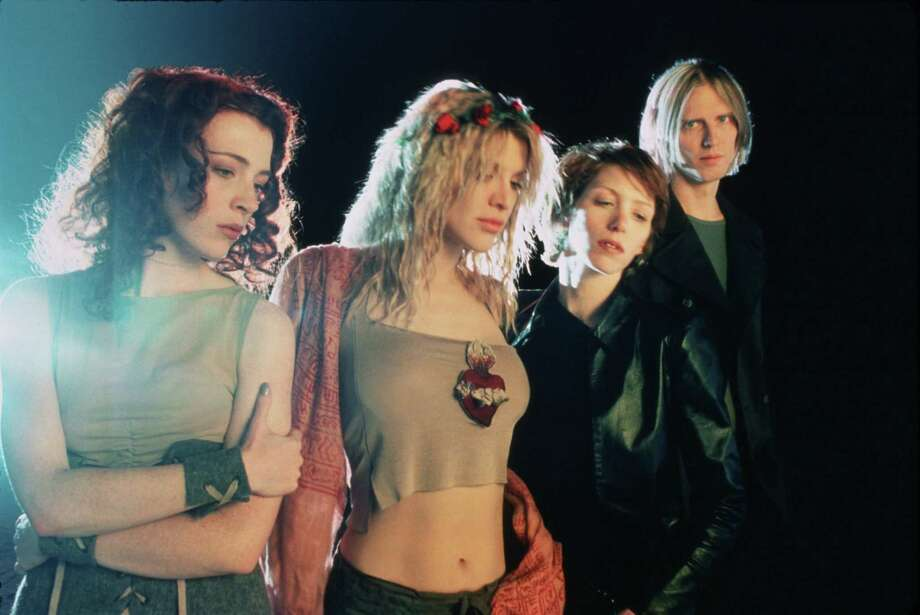 Kristen Pfaff, a bass player for the band Hole, was found dead in 1994 after an apparent drug overdose. She missed out on recording Celebrity Skin (the cover of which is pictured here), which earned the band four Grammy nominations in 1998. Photo: Guzman / handout/slide