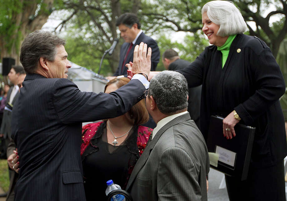 Sen. Judith Zaffirini said Gov. Rick Perry is open to adding tuition revenue bonds to the agenda for the third special legislative session. We urge him to take that step. Photo: File Photo, Associated Press / Austin American-Statesman