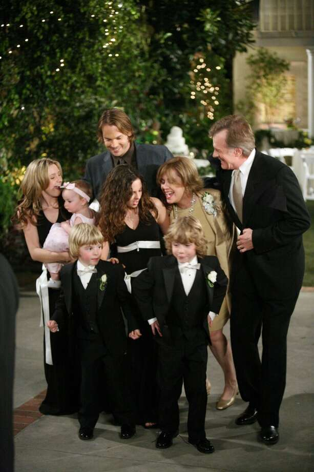 Simon's wedding in the final episode of the show, in 2006. Photo: DANNY FELD, AP