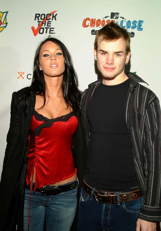 David Gallagher with Megan Fox. Photo: Chris Walter, WireImage