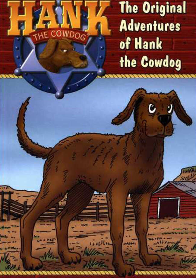 The Original Adventures of Hank the Cowdog, the first of John Erickson's lovable series, sometimes considered a children's book for ages 9-12 but popular with adults as well. Photo: Glenn Dromgoole