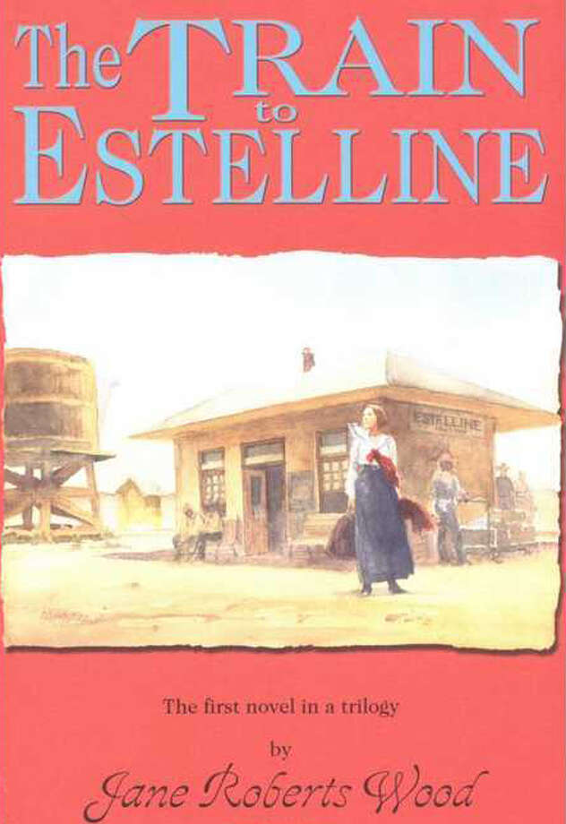The Train to Estelline, a novel by Jane Roberts Wood about a teacher in a one-room school in West Texas. Photo: Glenn Dromgoole