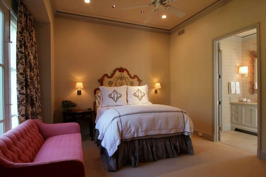 One of the four Secondary Bedrooms, each with a luxurious bathroom and custom walk-in closet.
