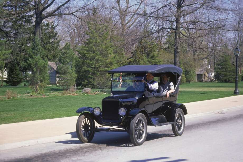 Ford Model T Automobile, Dearborn, Greenfield Village, Detroit, Michigan Photo: Barry Winiker, Getty Images