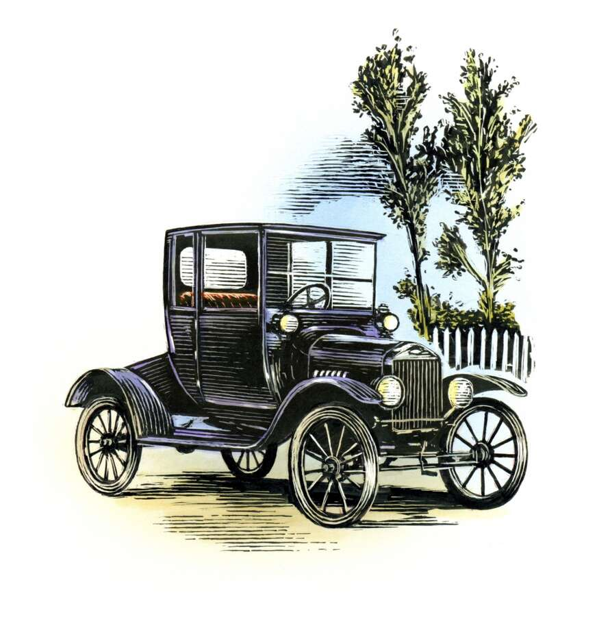 Antique Car Photo: Antar Dayal, Getty Images/Illustration Works