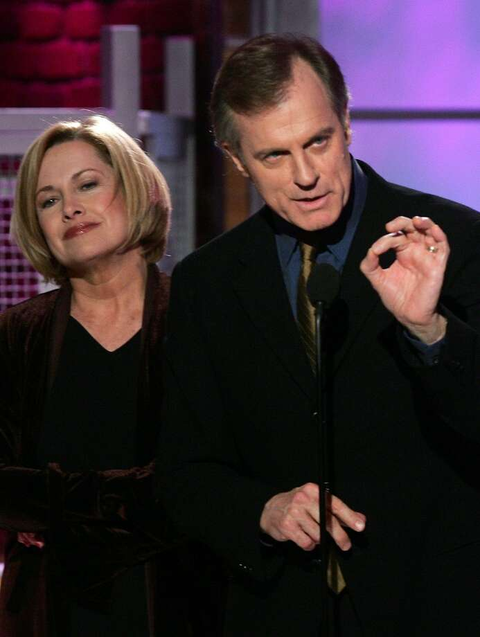 Stephen Collins and Catherine Hicks in 2005. Photo: REED SAXON, AP