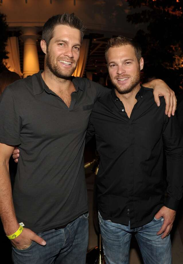 Actors Geoff Stults and George Stults in 2010. Photo: John Shearer, WireImage