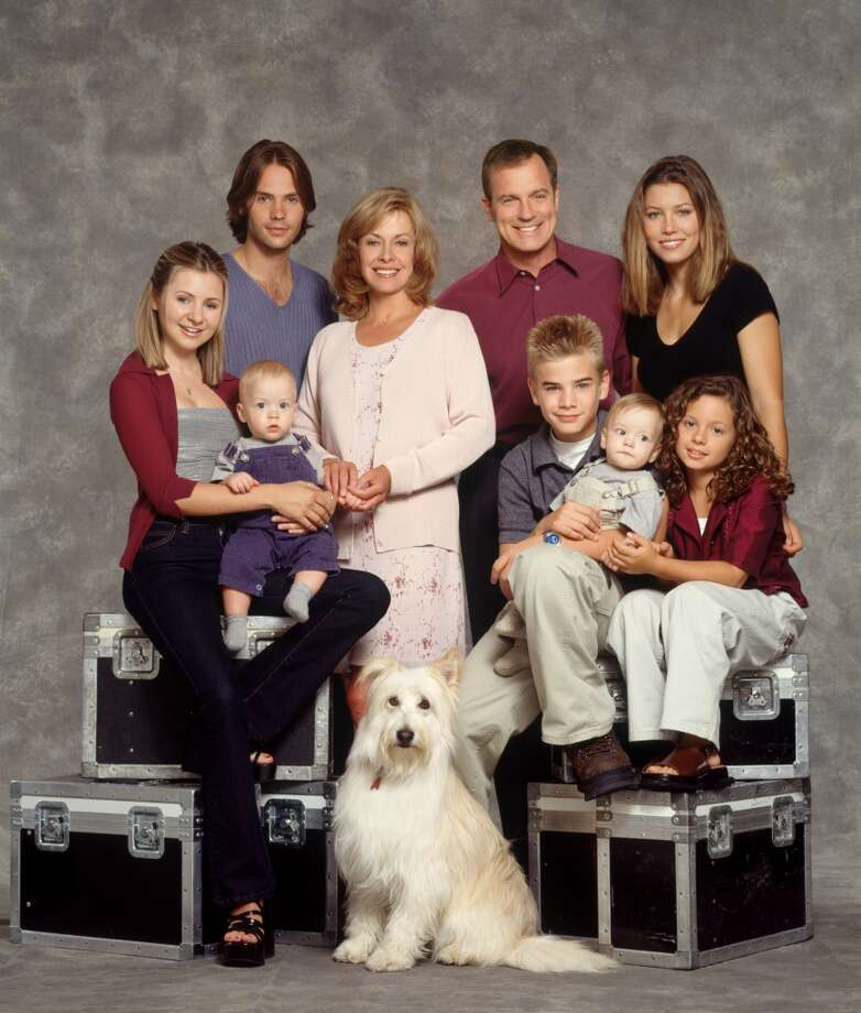 The cast of '7th Heaven.' Photo: THE WB/BILL REITZEL, TLP