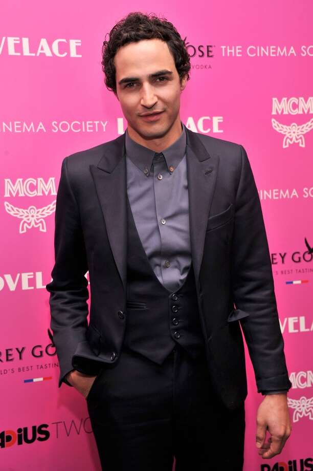 "Designer Zac Posen attends The Cinema Society and MCM with Grey Goose screening of Radius TWC's ""Lovelace"" at MoMA on July 30, 2013 in New York City.  (Photo by Stephen Lovekin/Getty Images) Photo: Stephen Lovekin, Getty Images"