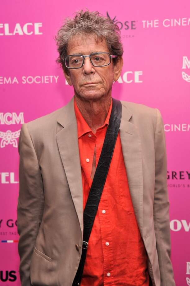 "Musician Lou Reed attends The Cinema Society and MCM with Grey Goose screening of Radius TWC's ""Lovelace"" at MoMA on July 30, 2013 in New York City.  (Photo by Stephen Lovekin/Getty Images) Photo: Stephen Lovekin, Getty Images"