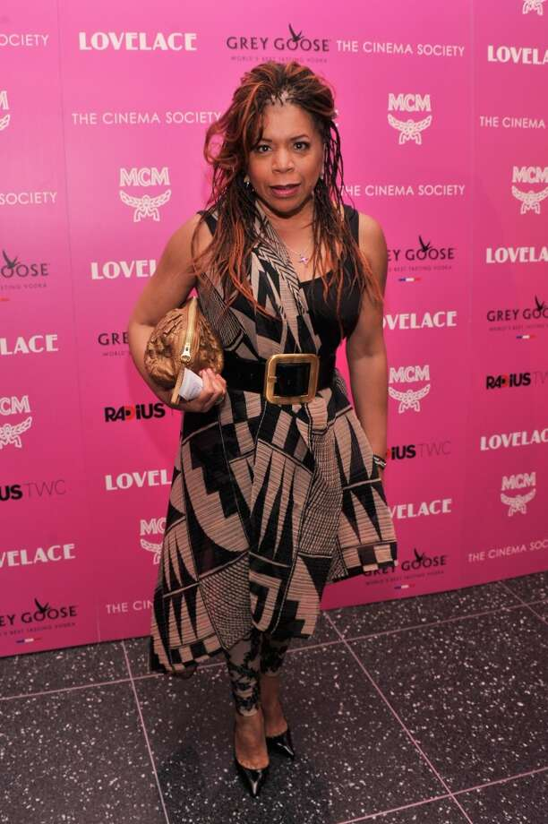"Actress Valerie Simpson attends The Cinema Society and MCM with Grey Goose screening of Radius TWC's ""Lovelace"" at MoMA on July 30, 2013 in New York City.  (Photo by Stephen Lovekin/Getty Images) Photo: Stephen Lovekin, Getty Images"