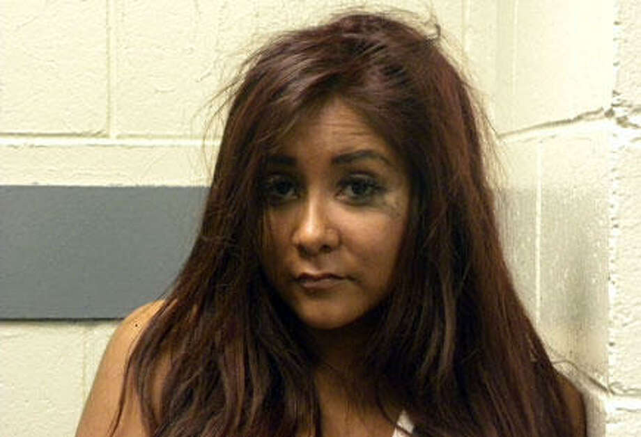 """Jersey Shore"" star and reality sensation, Nicole ""Snooki"" Polizzi, plead guilty to disorderly conduct in Seaside Heights, NJ in 2010. She was also briefly taken into custody while in Florence, Italy after the car she was driving collided with a police car."