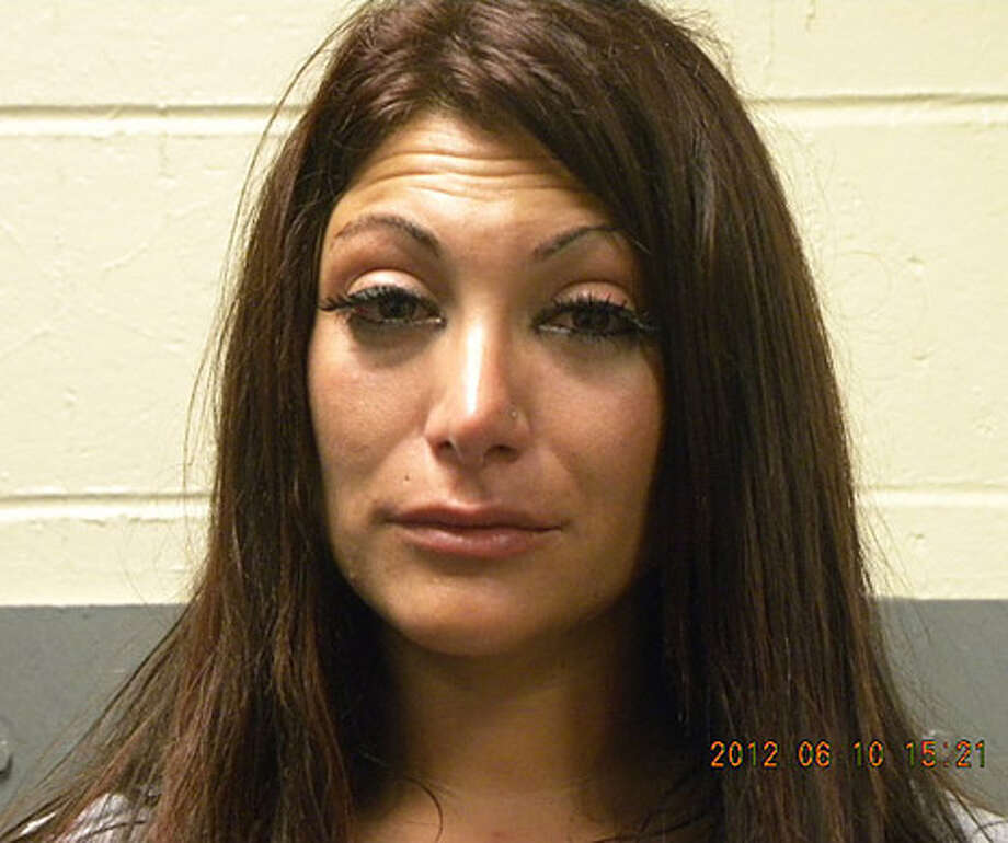"""Snooki's """"Jersey Shore"""" co-star Deena Cortese plead guilty last year to failing to use the sidewalk. Photo: Handout, 2012 Seaside Heights Police Department / 2012 Seaside Heights Police Department"""