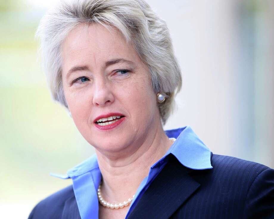 A tweet by Mayor Annise Parker drew a strong rebuke from the Ben Hall campaign. Photo: Karen Warren, Staff / © 2013 Houston Chronicle