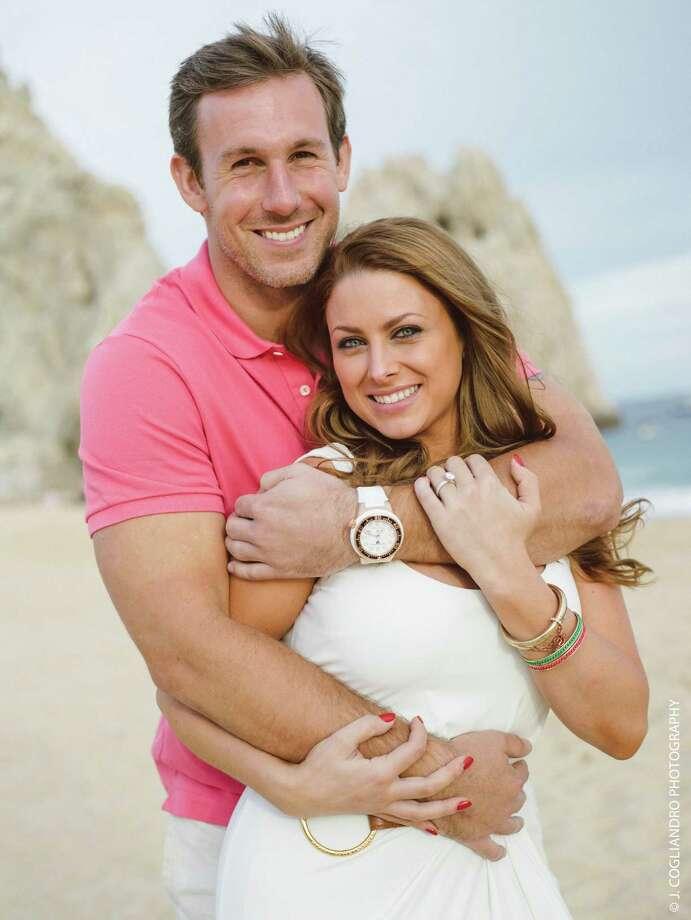 Owen Daniels and Angela Mecca Photo: J. Cogliandro Photography