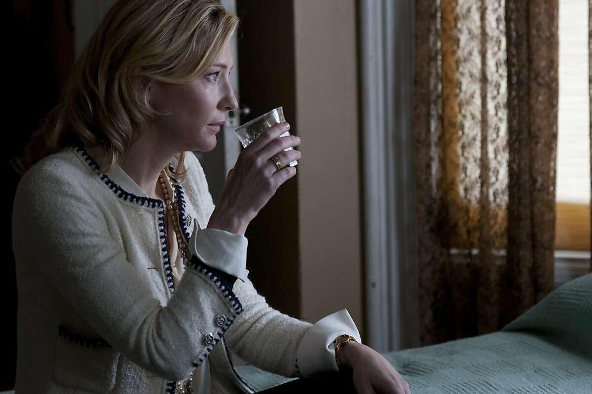 BLUE JASMINE: Cate Blanchett as Jasmine
