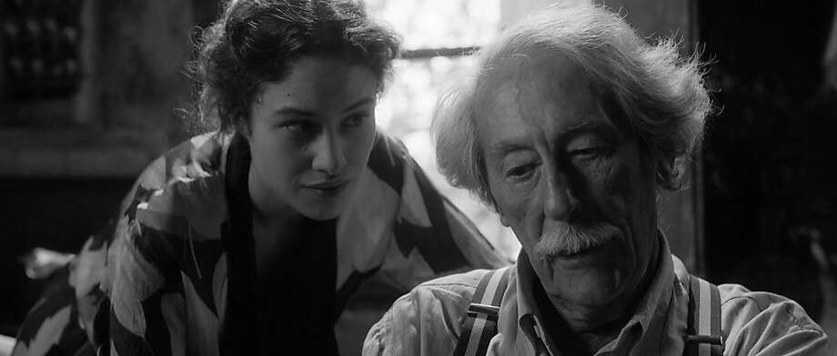 "Aida Folch (left) is the muse and Jean Rochefort the painter in Fernando Trueba's World War II-set ""The Artist and the Model."" Photo: Cohen Media Group"