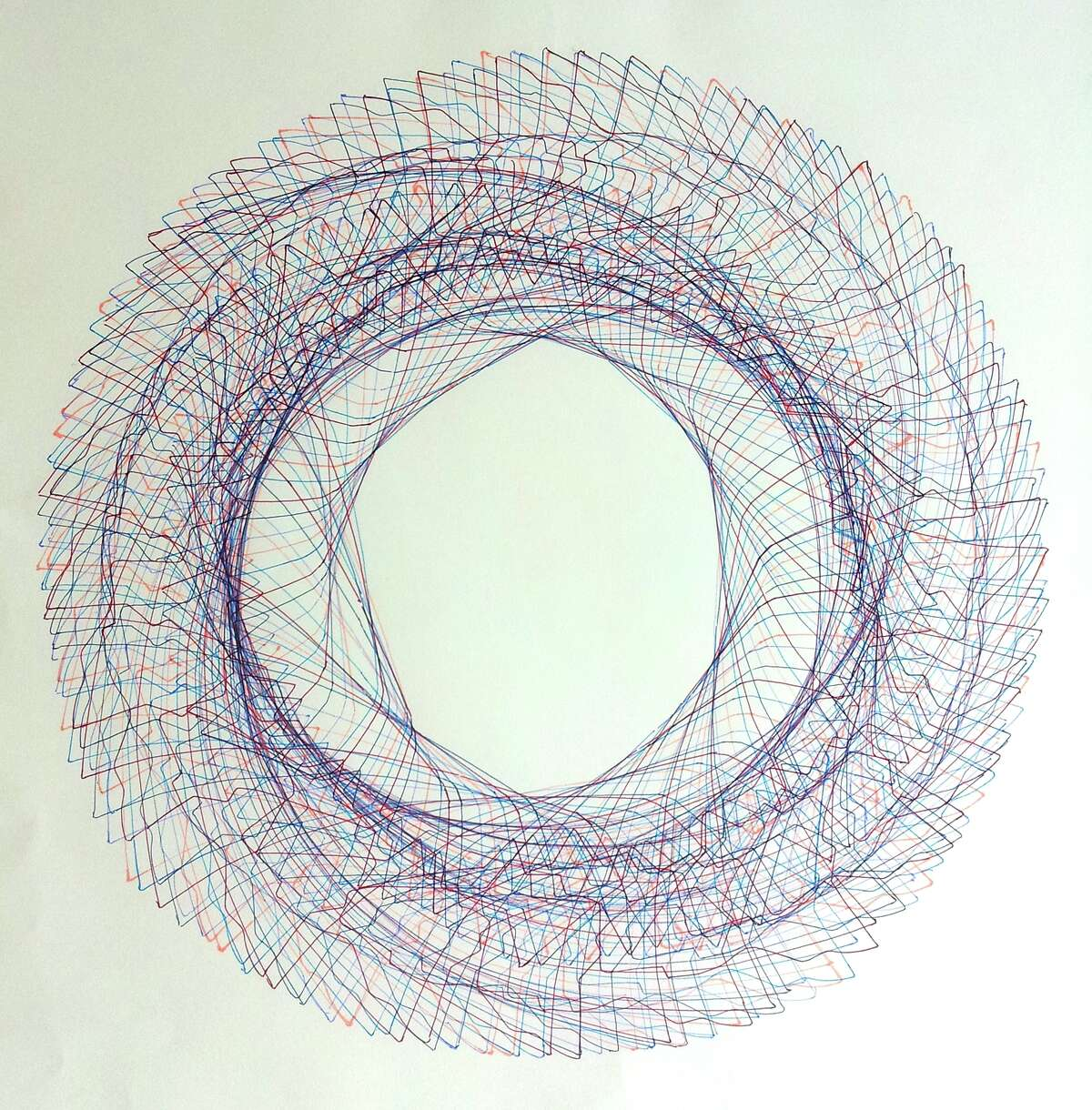 """Richard Nix's """"Skull Circle"""" will be on view at Williams Tower through Aug. 9."""