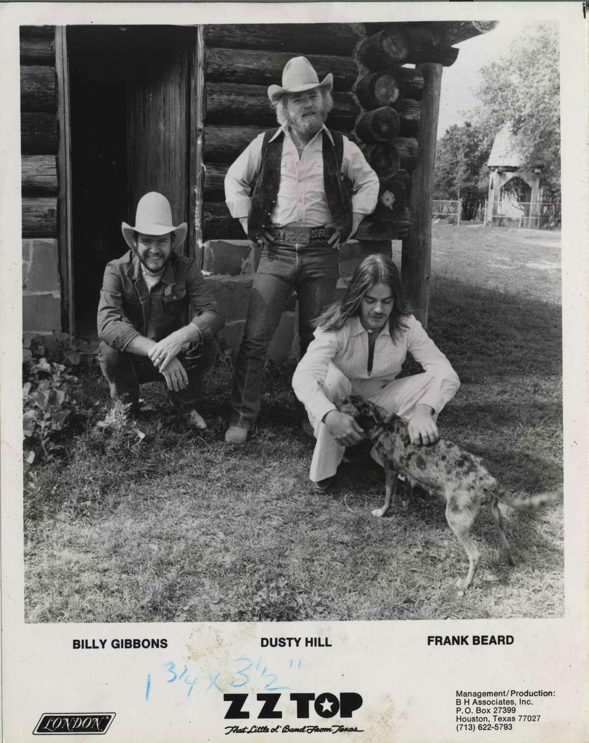 ZZ TOP -- Billy Gibbons, Dusty Hill, & Frank Beard of Z.Z. Top
