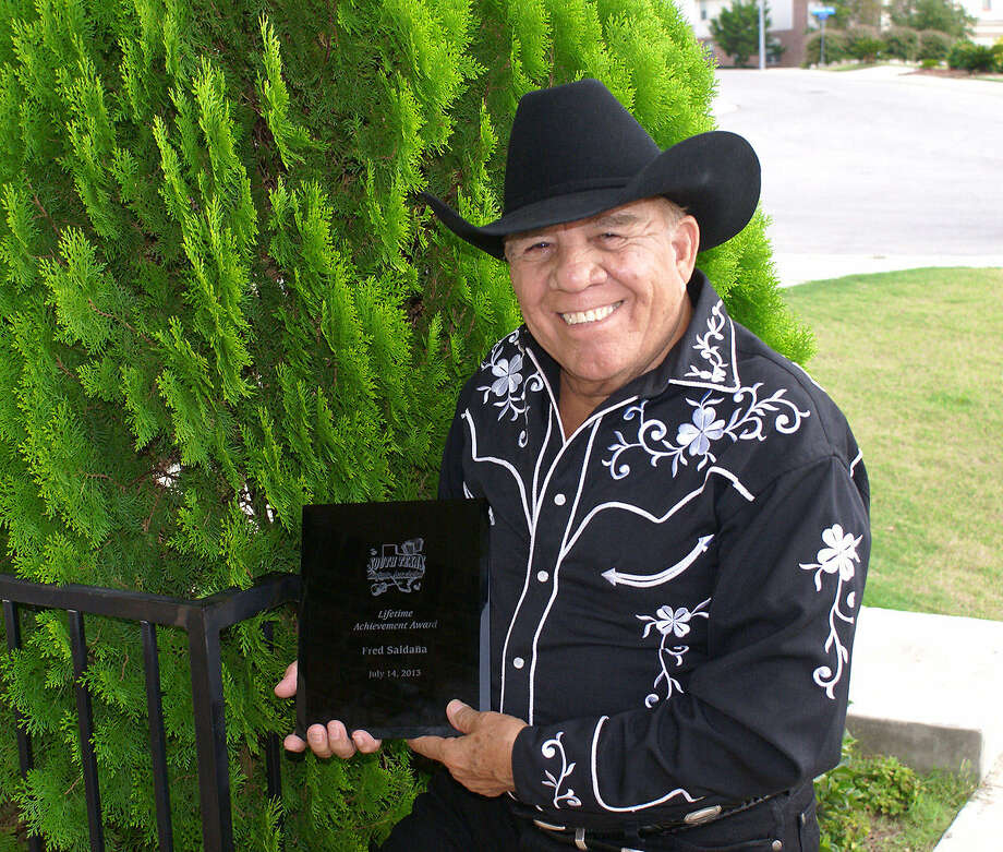 Fred Saldaña plays at Pam Am Plaza Saturday. Photo: Courtesy Photo