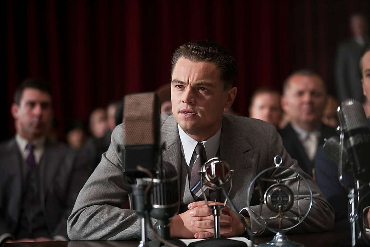 """In this image released by Warner Bros., Leonardo DiCaprio is shown in a scene from the upcoming film, """"J. Edgar."""" DiCaprio was nominated Thursday, Dec. 15, 2011 for best actor in a drama for his role in """"J. Edgar."""" The Golden Globes will be presented Jan. 15 at the Beverly Hilton Hotel, televised live by NBC and hosted by Ricky Gervais. (AP Photo/Warner Bros. Keith Bernstein)"""