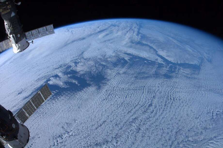 """""""Newfoundland and Labrador, without zoom""""- Chris Hadfield, 2013.  Photo: Karen Nyberg, International Space Station"""