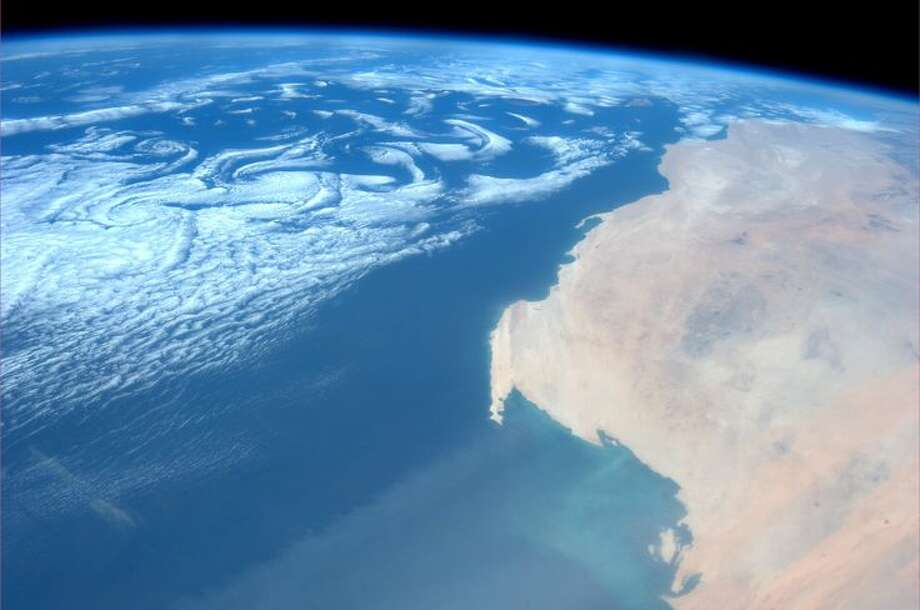 Western Sahara. Taken July 20, 2013. KN from space. Photo: Karen Nyberg, International Space Station