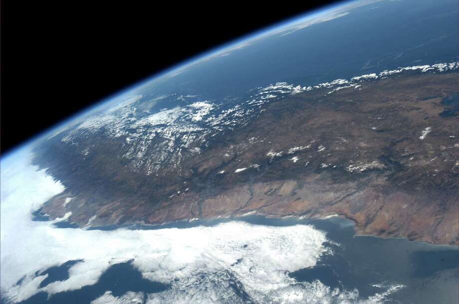 Southwest coast of Peru, on 26, 2013.  Photo: Karen Nyberg, International Space Station