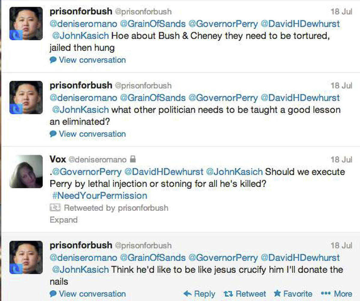 Tweets from abortion activists. DPS has subpoenaed Twitter for account information.