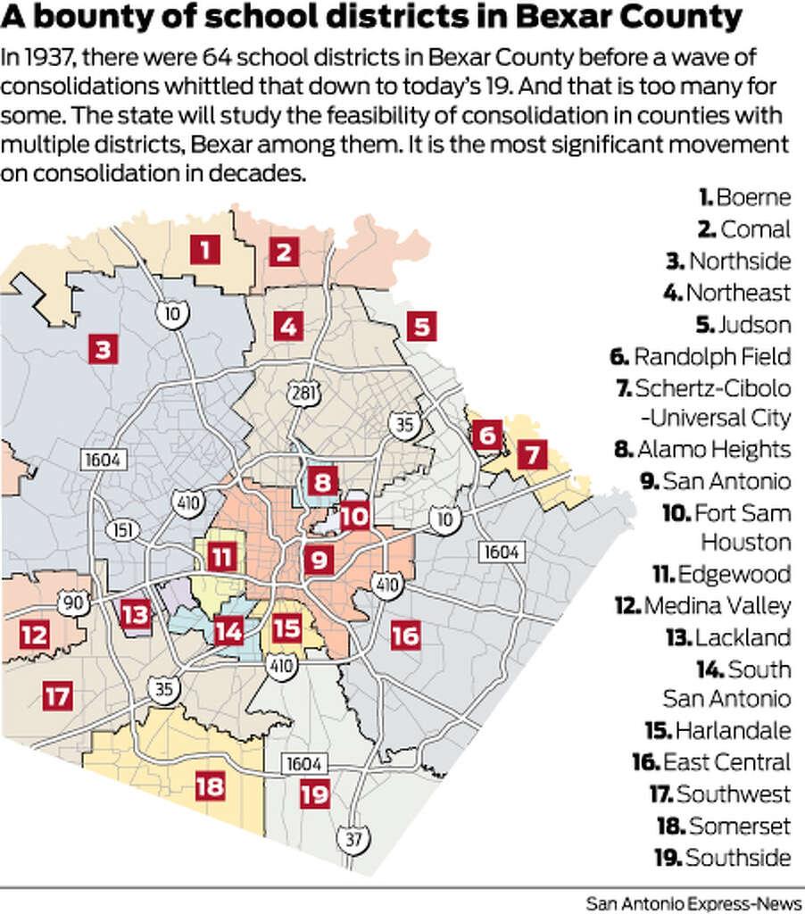 School district consolidation Can it work San Antonio ExpressNews