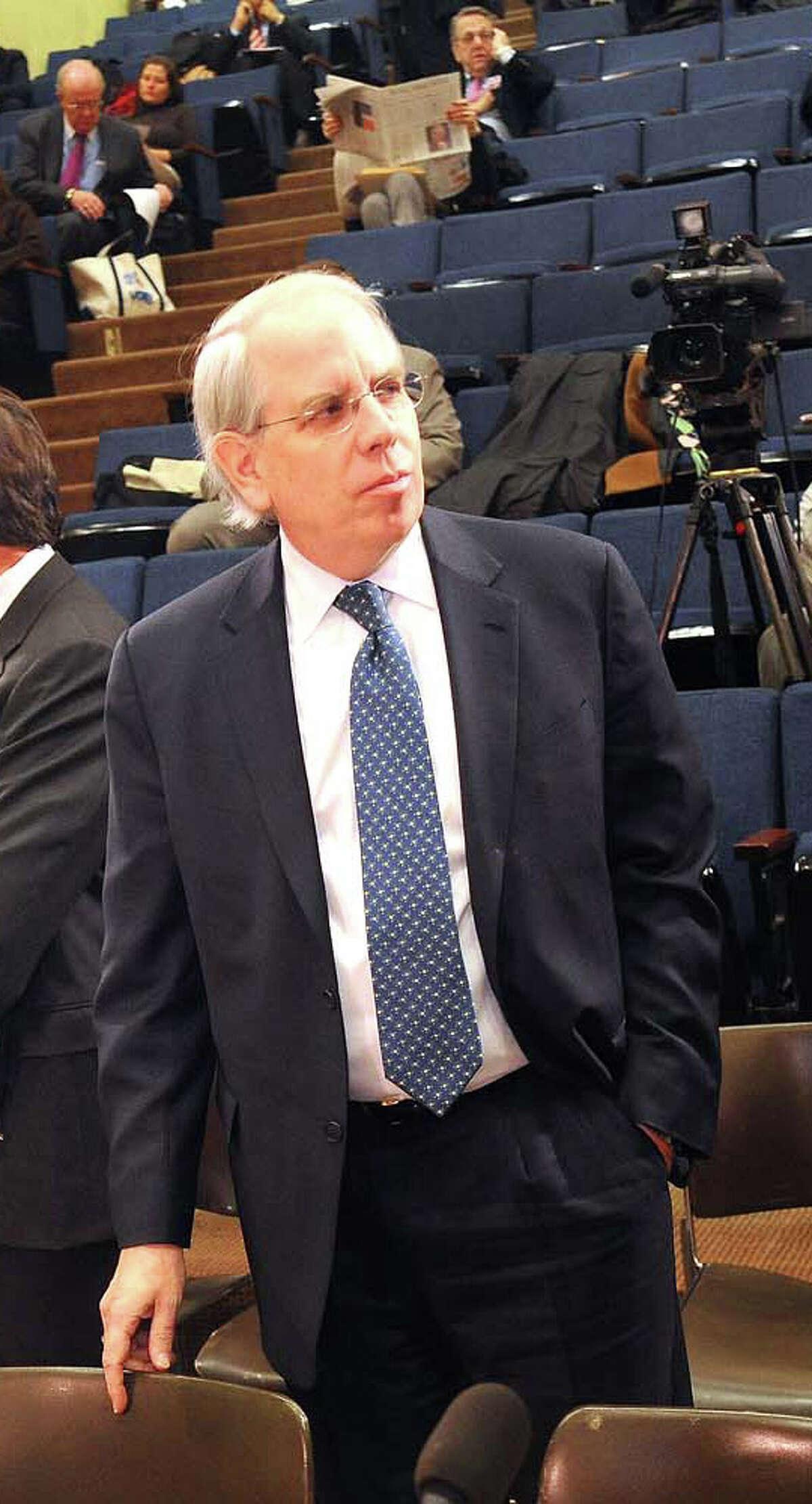 SUNY Vice Chancellor John O'Connor at a legislative hearing in 2009. (Times Union archive)