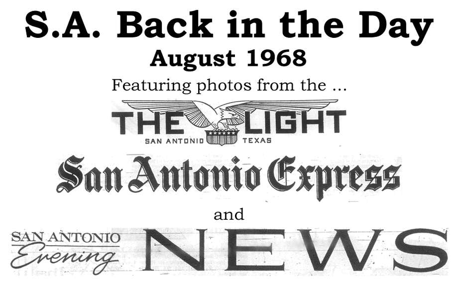 We've combed through the San Antonio Light, San Antonio Express and San Antonio Evening News archives to bring you the best photos from the Alamo City 45 years ago, for the most part using the original photo captions, with exceptions to provide more information. Enjoy! Compiled by Merrisa Brown, mySA.com. Photo: San Antonio Express-News Photo Illustration