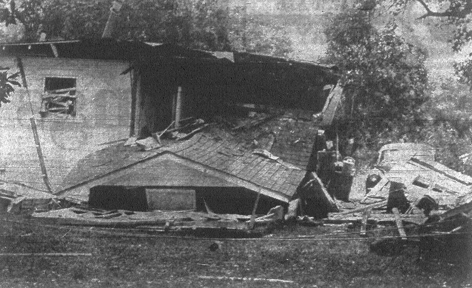 Frank Espinosa, 26, was seriously burned when an explosion rocked his home in the 1600 block of W. Ashy Place. No one else was injured in the blast, which neighbors said sounded like a sonic boom. Published in the San Antonio Express Aug. 18, 1968. Photo: File Photo