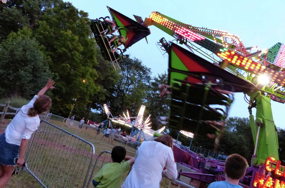 The 78th Annual Easton Fireman's Carnival in Easton, Conn. on Wednesday July 31, 2013. The carnival continues nightly 6pm-11pm through Saturday August 3, 2013. Photo: Christian Abraham / Connecticut Post