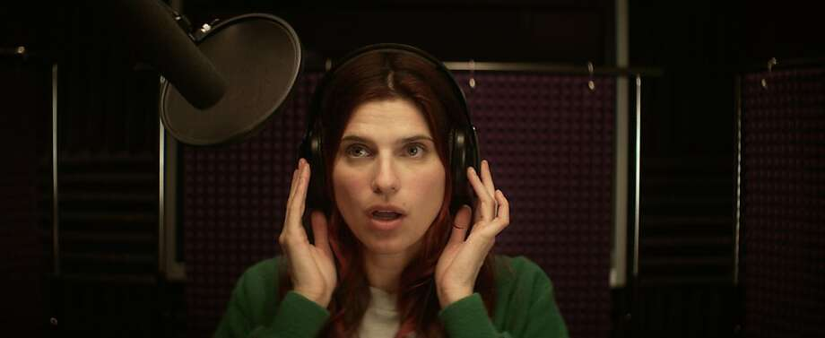 "Lake Bell stars in ""In a World ...,"" which the 34-year-old actress also directed - and wrote - about a movie trailer voice-over actress who finds herself in competition with her dad. Photo: Roadside Attractions"