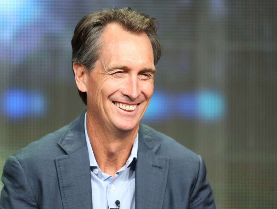 "Cris Collinsworth SFGate commenter sanfran126 summed up the sentiment toward Collinsworth thusly: ""[Collinsworth] has spent his entire broadcasting career dissing the niners whenever he can. I hate him for it. Fact is he's still sore over the SB losses and wears it on his sleeve."" Photo: Frederick M. Brown, Getty Images"