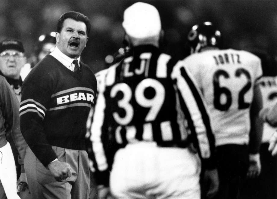 Mike Ditka 49ers fans never tired of beating Ditka at the Stick. Photo: Frederic Larson, The Chronicle