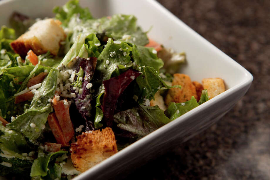 The Julio Caesar Salad is shown at El Gran Malo. Photo: Brett Coomer, Houston Chronicle / © 2011 Houston Chronicle