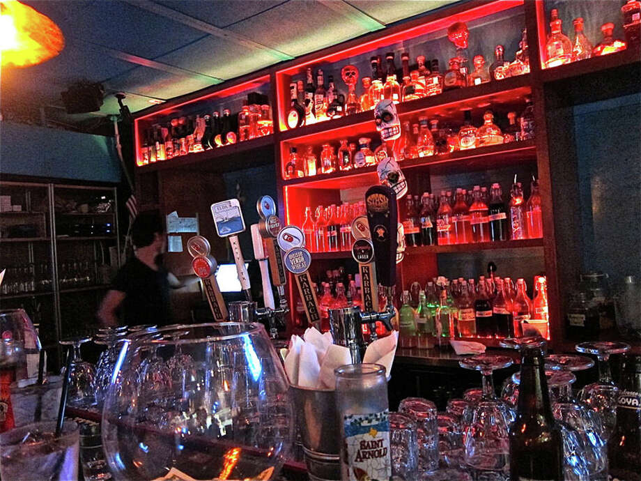 Behind the bar at El Gran Malo in the Heights. Photo: Alison Cook