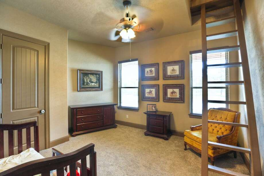 Secondary bedroom w/loft access. These secondary rooms are spacious in size!