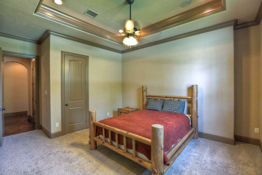 There are four spacious secondary bedrooms. One can be used as the media room/equipped with surround sound and it has insulated walls.