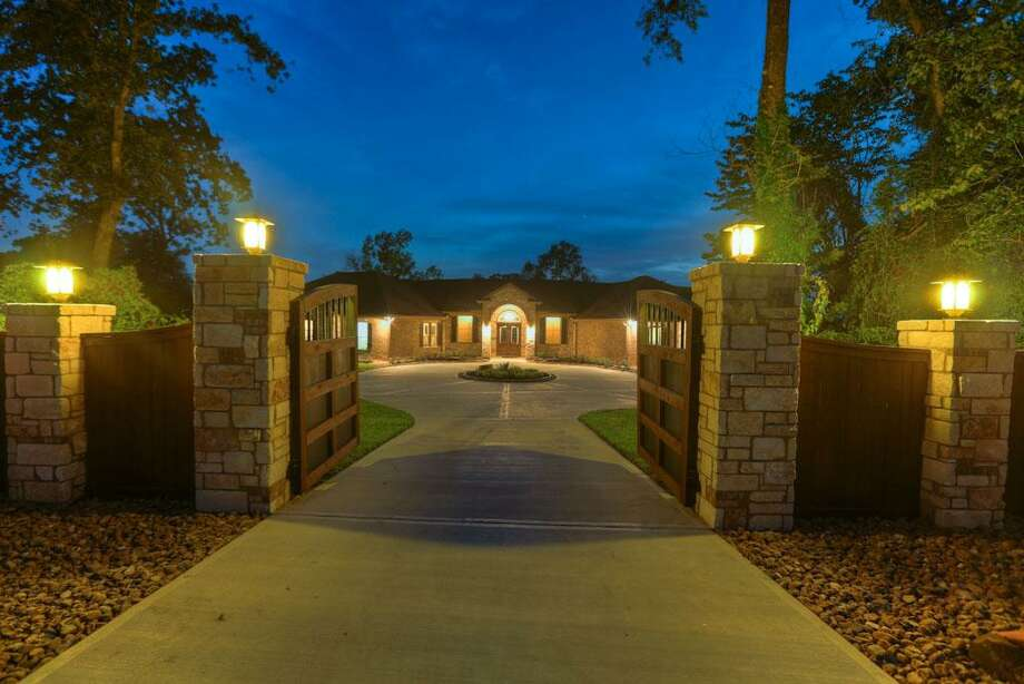 The front entrance to this beautiful home.